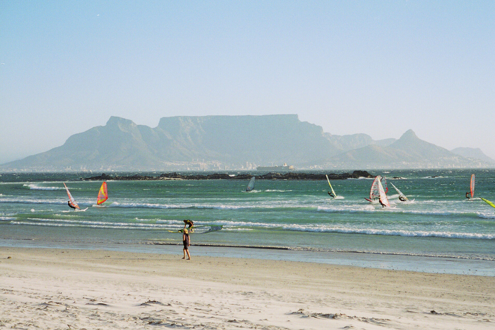 Beautiful view of Table Mountain from Blouberg Beach