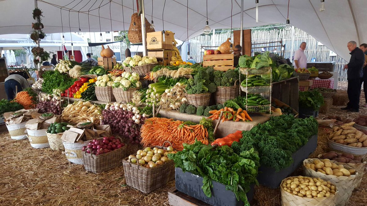 Farmers Market in Cape Town
