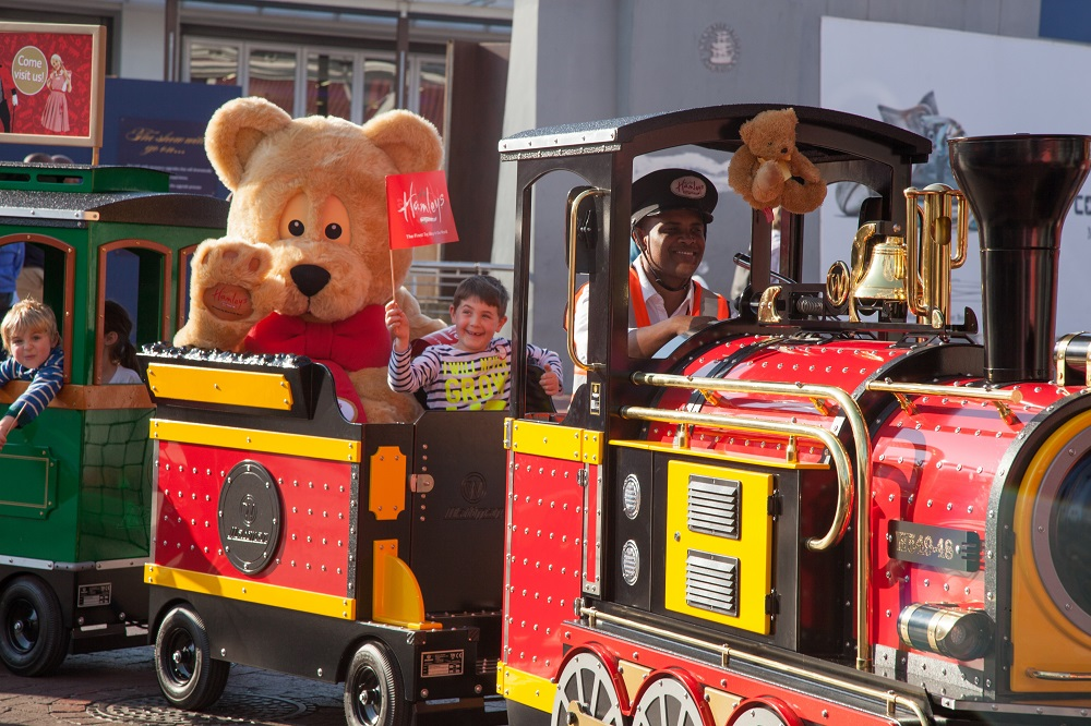 Hamleys Express Train at the Waterfront