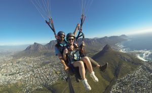 Cape Town Tandem Paragliding Experience