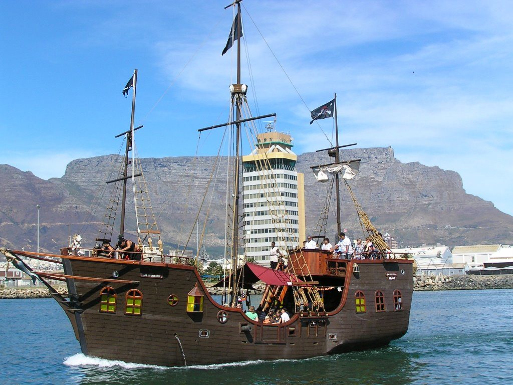 Jolly Roger Pirate Boat Daytime Cruise | Cape Town City Pass