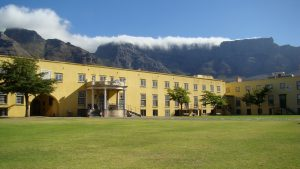 Castle of Good Hope with Table Mountain in the background
