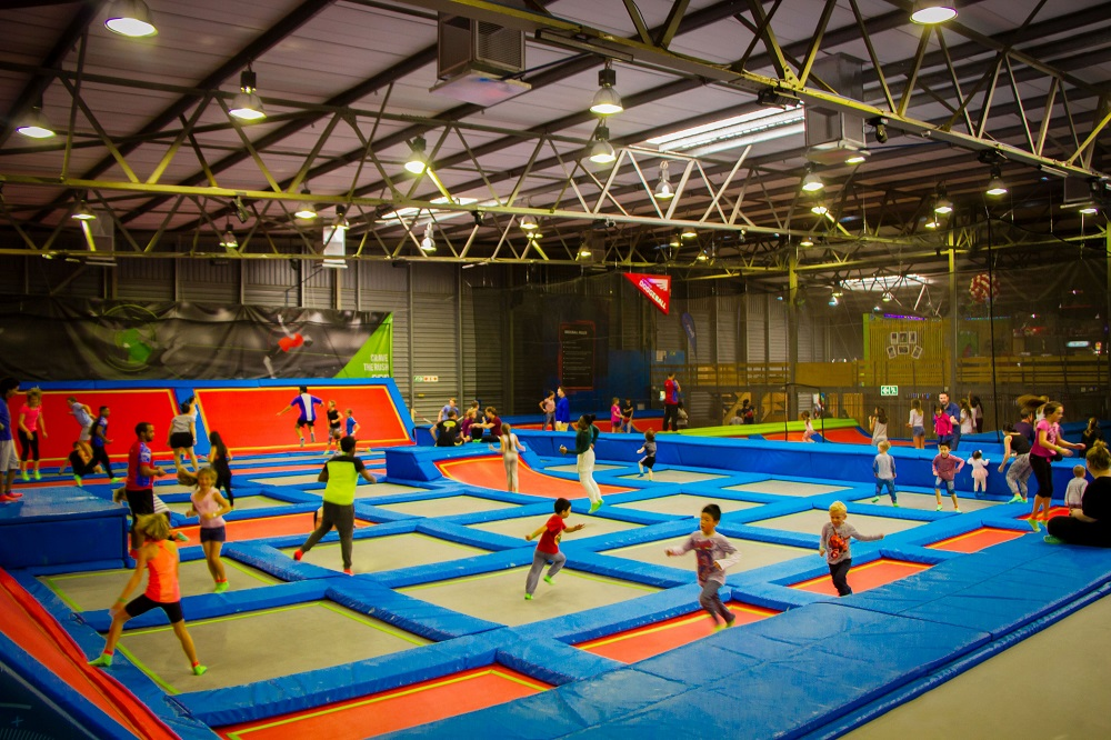Rush Indoor Trampoline Park Entry