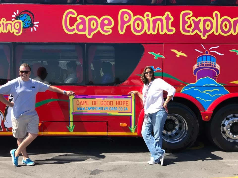 A luxury coach to take you around the Cape Peninsula