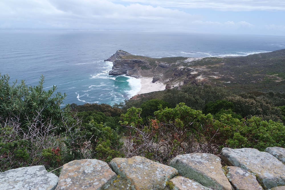 View of Cape of Good Hope near Cape Town