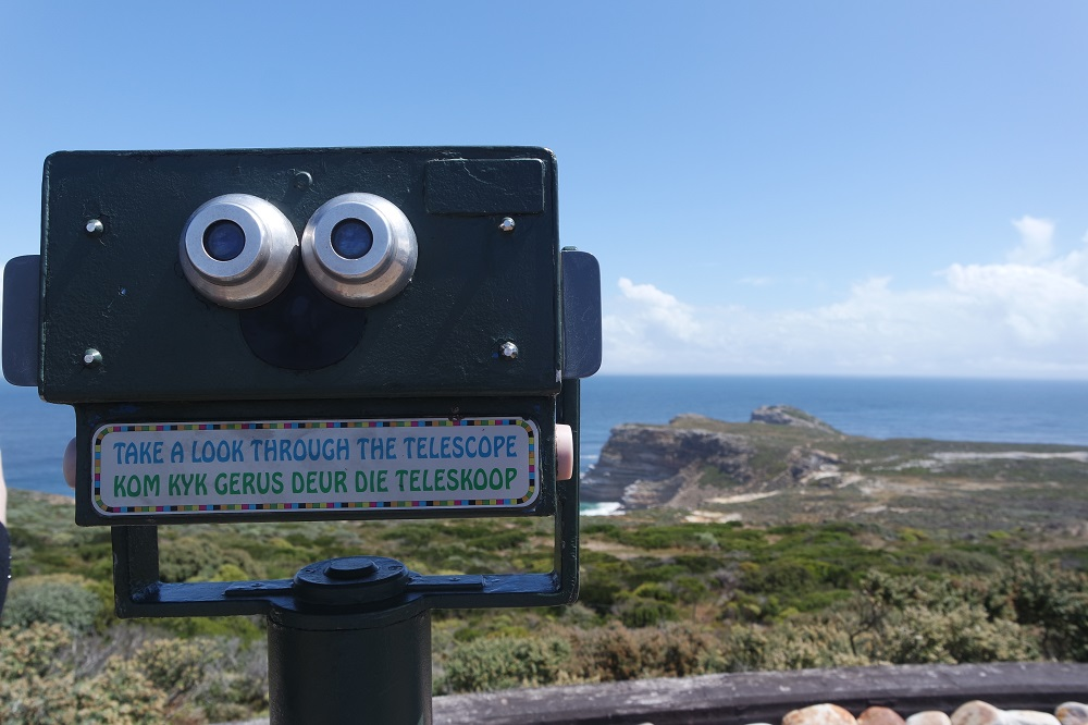 Telescope in Cape Point, South Africa