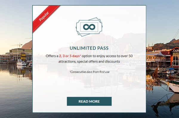 Unlimited City Pass Cape town