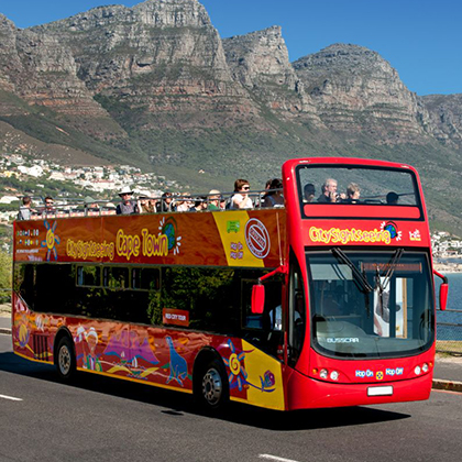 City Sightseeing Hop-On Hop-Off bus Attraction in Cape Town