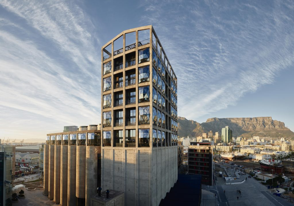 Zeitz MOCAA gallery, Silo District, Cape Town, South Africa.