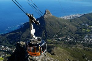 Go to Table Mountain with the Aerial Cableway