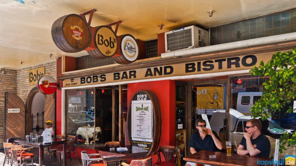Bobs Bar and Bistro on Long Street